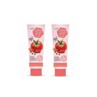แพคคู่ Smooto Tomato Perfect White Body Serum SPF30 100 ml