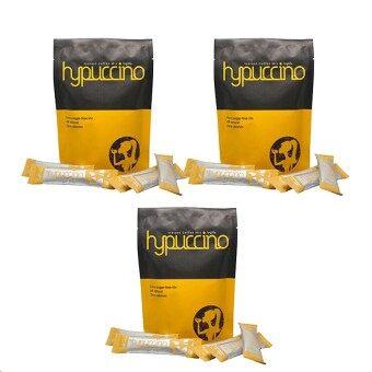 Hypuccino instant coffee mixไฮปูชิโน่ กาแฟที่หอมนุ่มรสคาปูชิโน่10ซอง(3กล่อง)