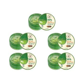 Harga The Saem Jeju Fresh Aloe Soothing Gel 99% ( 5 กระปุก)