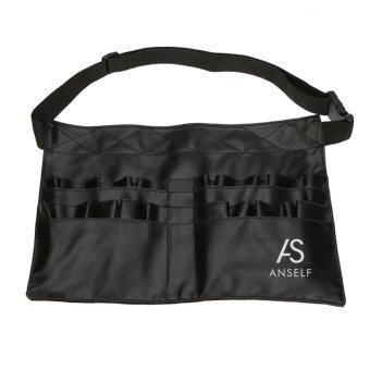 Anself แปรงแต่งหน้าอาชีพผ้าพีวีซีกระเป๋าเครื่องสำอางเข็มขัดรัดตัวศิลปิน