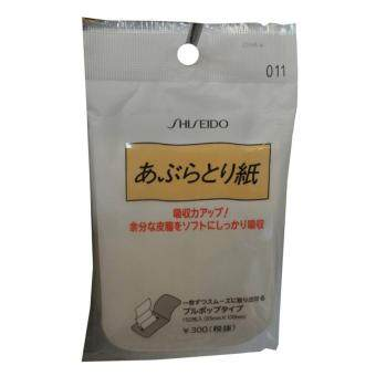 Shiseido #011 กระดาษซับมันช่วยซับความมันส่วนเกิน แบบ pop up (1 ซอง)