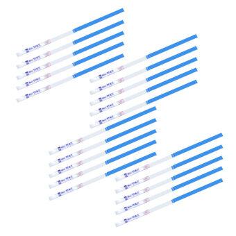 WiseBuy 20ชิ้นตกท้องปัสสาวะชุดทดสอบ/สอบ Senstive เอชซีจีความอุดมสมบูรณ์แถบสีน้ำเงิน