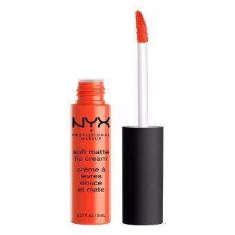 นิกซ์ โปรเฟสชั่นแนล เมคอัพ ซอฟต์ แมท ลิป ครีม - SMLC28 ซาน ฮวน NYX Professional Makeup Soft Matte Lip Cream - SMLC28 San Juan