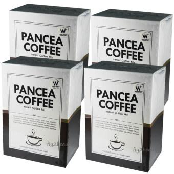 Pancea Coffee แพนเซีย คอฟฟี่ กาแฟปรุงสำเร็จ ควบคุมน้ำหนัก สูตรเข้มข้น หอมกรุ่น อร่อย ชนิดผง ขนาด 10 ซอง (4 กล่อง)