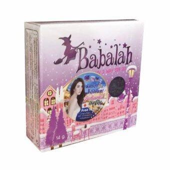 Babalah แบบเก่า รุ่นใหม่ มี่ QR coed แป้งเค้กทูเวย์ บาบาร่า ผสมรองพื้น SPF20 14 g. เบอร์ 1 ผิวขาว