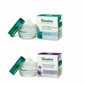 แพคคู่ Himalaya Oil Free Radiance Gel Cream& Himalaya Revitalizing Night Cream 50 g.
