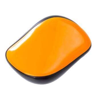 HSJ Compact Styler หวีลดไฟฟ้าสถิตย์ ช่วยนวดศีรษะ ทำให้เส้นผมแข็งแรง สีส้ม 1 ชิ้น