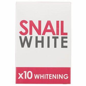 Snail White x10 Whitening สบู่หอยทาก สเนล ไวท์ 70g