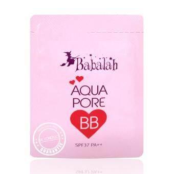 Babalah บาบาร่า ครีมรองพื้น บีบีบาบาร่า อะควา พอร์ บีบี Aqua Pore BB SPF37 PA+++ (3 กรัม)