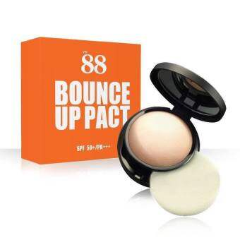 Ver.88 Bounce Up Pact SPF50+/ PA+++ แป้งดินน้ำมัน 12g.