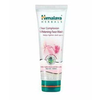 Himalaya Clear Complexion Whitening Face Wash 100ml.สำหรับลด ฝ้า กระ