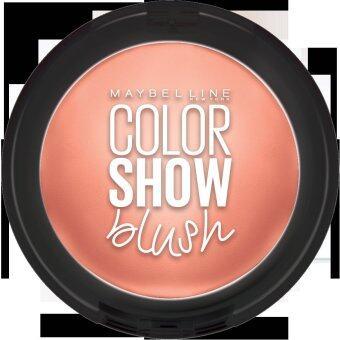 เมย์เบลลีน นิวยอร์ก ชีคกี้ โกลว์ บลัช บลัชออน 03 ครีมมี่ ซินนามอน 7 กรัม MAYBELLINE NEW YORK COLOR SHOW BLUSH 03 Creamy Cinnamon 7 g