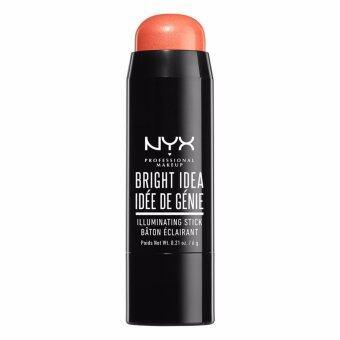 นิกซ์ โปรเฟสชั่นแนล เมคอัพ ไบรท์ ไอเดีย อิลูมิเนตติ้ง สติ๊ก - BIIS02 คอราลิเชียส NYX Professional Makeup Bright Idea Illuminating Stick - BIIS02 Coralicious