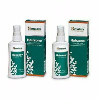 Himalaya Hairzon Solution 60 ml.สเปรย์รักษารากผมลดการหลุดร่วง (2 กล่อง)