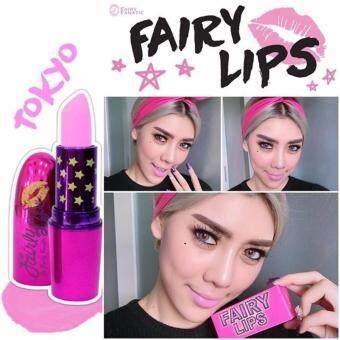 FAIRY LIPS ลิปสติกแฟรรี่ สี Tokyo Style ชมพู (1 แท่ง)
