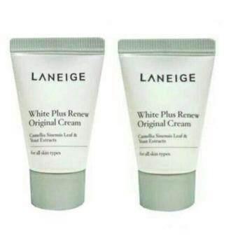 แพคคู่ Laneige White Plus Renew Original Cream (10 ml)ครีมบำรุงผิวขาวดีอันดับ 1