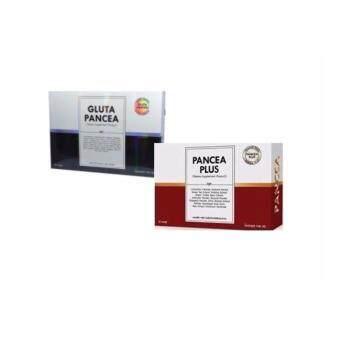 PanceaPlus 30แคปซูล& gluta pancea 30แคปซูล อาหารเสริมผอม-ขาว