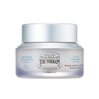 Harga THE FACE SHOP THE THERAPY ANTI-AGING MOISTURIZING CREAM
