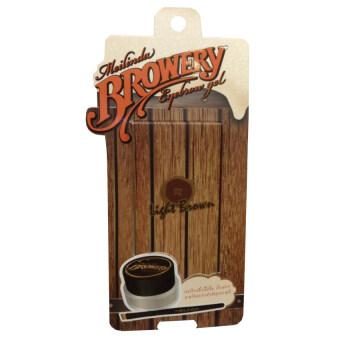 Mei linda browery eyebrow gel เจลเขียนคิ้วเนื้อบางเบา สีสวย #02 Light brown (1 ชิ้น)
