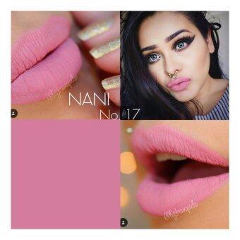 ลิปสติก เนื้อแมท NANI Long Lasting Lip เบอร์17