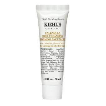Kiehl's Calendula Deep Cleansing Foaming Face Washผลิตภัณฑ์ล้างหน้าสูตรอ่อนโยน30ml (1หลอด)
