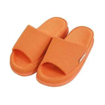 Refre OKUMURA Slippers รองเท้านวดเพื่อสุขภาพ รองเท้าเพื่อสุขภาพ รองเท้าใส่ในบ้าน สีส้ม(Size M)