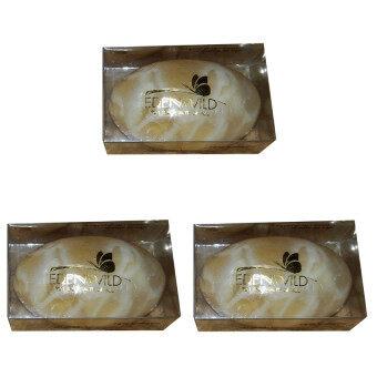 Edenwild Herbal Soap สบู่กวาวเครือขาวขนาด25กรัม - 3 ก้อน