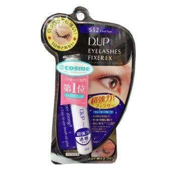 D.U.P Eyelashes Fixer EX กาวติดขนตาปลอมชนิดใส #552 Clear Type (1 ชิ้น)
