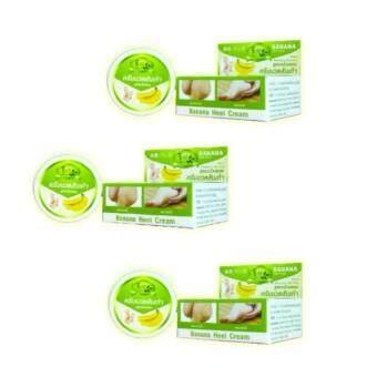 ชีววิถี ครีมนวดส้นเท้าแตกกล้วยหอม 30กรัม ( 3 กล่อง)