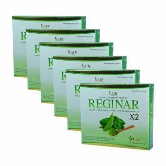 Regina ผลิตภัณฑ์อาหารเสริมลดน้ำหนัก (ขนาดบรรจุ 10 แคปซูล) 6 กล่อง