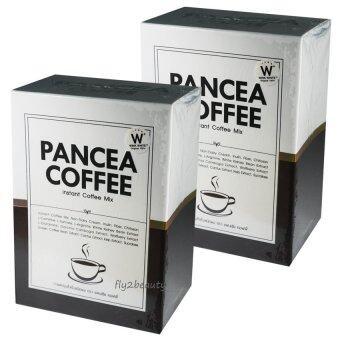 Pancea Coffee แพนเซีย คอฟฟี่ กาแฟปรุงสำเร็จ ควบคุมน้ำหนัก สูตรเข้มข้น หอมกรุ่น อร่อย ชนิดผง ขนาด 10 ซอง (2 กล่อง)
