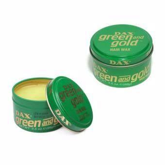 DAX WAX green gold แว็กจัดแต่งทรงชนิดไม่แข็งมาก ความเงางามปานกลาง 99ml x 2 สินค้าจาก USA
