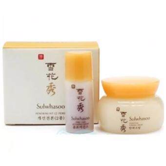Sulwhasoo Renewing Kit 2 Items (Essential Firming Cream 5ml + First Care Activating Serum 4ml) (ขนาดทดลอง)