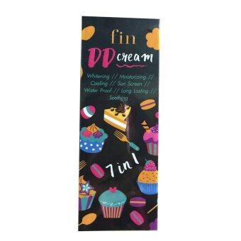 Fin DD Cream 7 in 1 ฟิน ดีดี ครีม ขาวสวย 7 ประการในหนึ่งเดียว ออร่าไว ทาปุ๊ป ขาวปั๊ป เกลี่ยง่าย ไม่ติดขน ไม่ติดเสื้อผ้า 100g. ( 1 กล่อง)