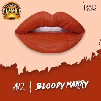 ของแท้ ลิปน้ำชา RAD Cosmetics สี Bloody Marry : A12 RAD Matte Liquid Lipsick