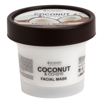 Harga Scentio Coconut &Co-Q10 Facial Mask
