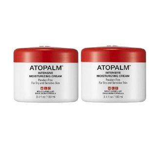 Atopalm Intensive Moisturizing Cream 100 ml. 2 กระปุก สุดคุ้ม ทาได้ทั้งผิวหน้า ผิวกาย