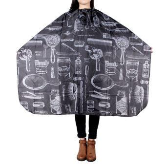 ออกแบบเสื้อคลุมผมทำผมตัดผมเสริมสวยตัดผ้าช่างกัลบกไนลอนป้องกัน