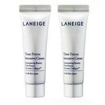 แพคคู่ Laneige Time Freeze Intensive Cream (10 ml) ครีมลดริ้วรอย