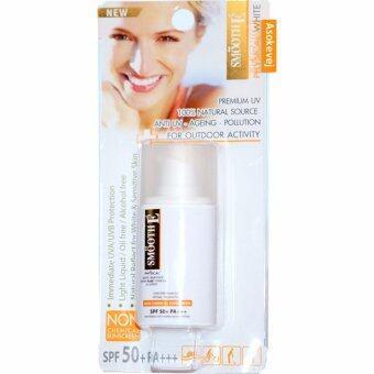 Smooth E Physical White Sunscreen SPF 50+ PA+++ 20 กรัม โลชั่นป้องกันแสงแดด