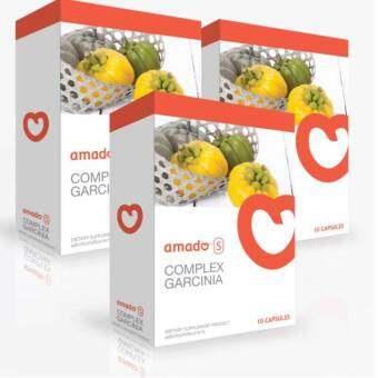 Amado S Garcinia อมาโด้ เอส กล่องส้ม รุ่นใหม่ ลดน้ำหนัก 3 กล่อง