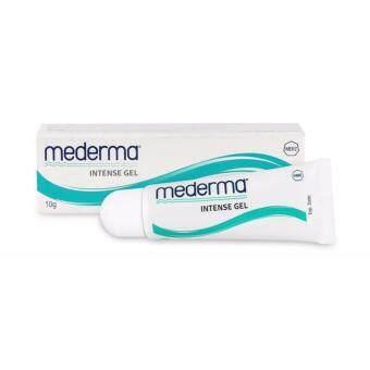 MEDERMA Intense Gel 10 G เมดเดอม่า ครีมรักษาแผลเป็นจากสิว รอยผ่าตัด หลังคลอด