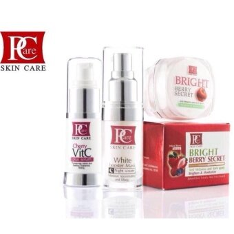 Harga Pcare Beauty White booster+Cherry VitC +Bright Berry Secret (combo set เซตผิวหน้ากระจ่างใส)