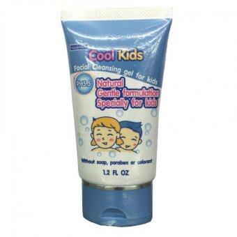 Cool kids facial Cleansing gel for kidsคูลคิดส์ เจลล้างหน้าสำหรับเด็ก30กรัม/หลอด(1หลอด)