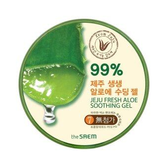 Harga The Saem Jeju Fresh Aloe Soothing Gel 99%