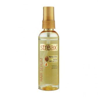 streax Hair Serum with Walnut Oil 100 ml - เซรั่มบำรุงเส้นผมผสมน้ำมันวอลนัททำให้ผมจัดทรงง่าย