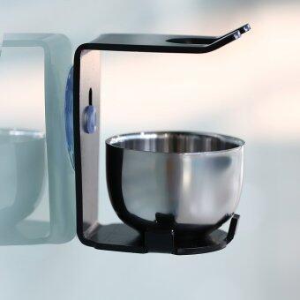 มนุษย์สังเคราะห์ตัวงิ้ว และถ้วยชามสเตนเลสสำหรับ Shavor ถือมีดโกน และใบมีดโกนแก้วชุดแปรงชุดเครื่องมือสำหรับใบหน้า และเคราสะอาด