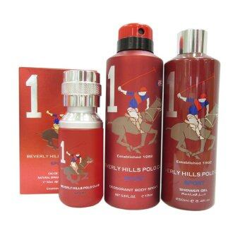 Harga Beverly Hills Polo Club Men Set (3 Bottles) Set 1