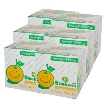 Electrolyte Beverage Powder RDT10 เครื่องดื่มเกลือแร่ ตรา- รอแยลดี 25 กรัม (10ซองx6กล่อง)
