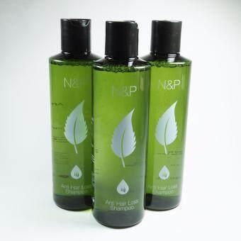 ผลิตภัณฑ์ดูแลเส้นผม Hair Product แชมพูออแกนิคส์ N&P Organic Herbal Shampoo แชมพูลดผมร่วง กระตุ้นผมใหม่ จากสารสกัดต้นอ่อนถั่วลันเตา(สินค้ามี อย.)